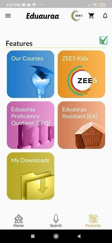 Eduauraa features