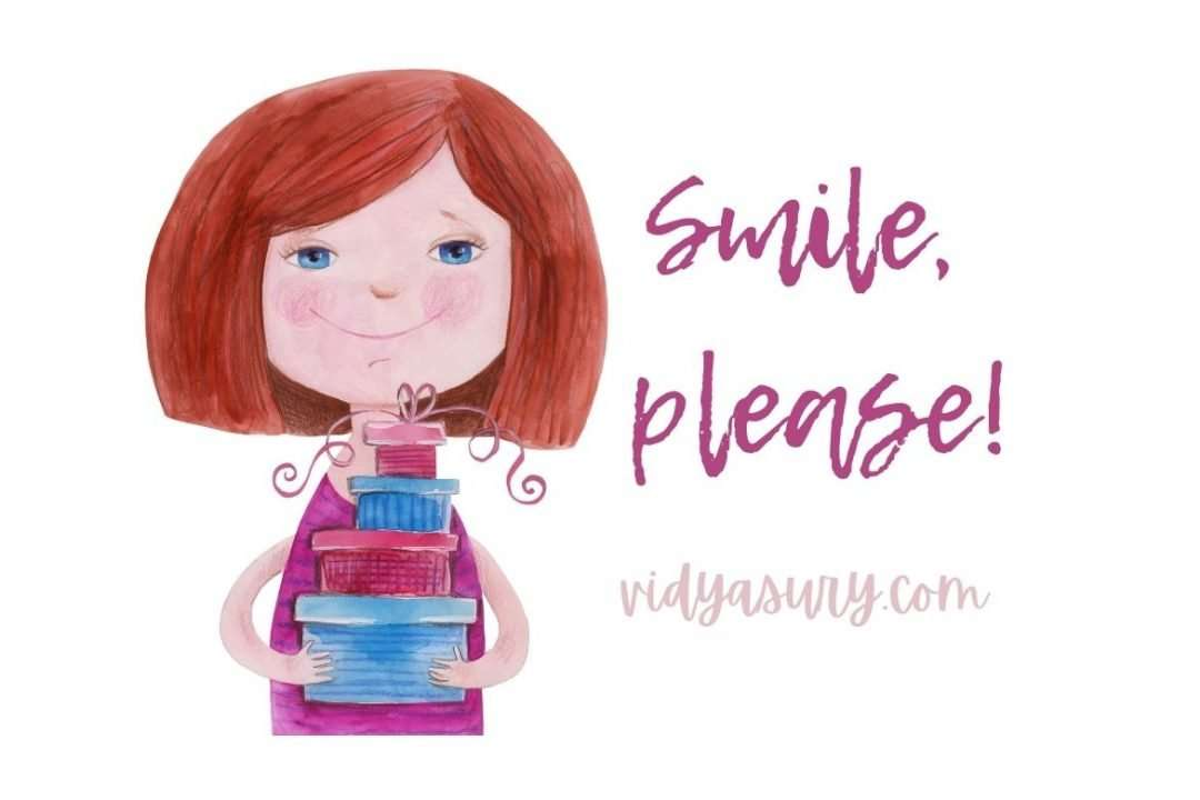 Smile, please!