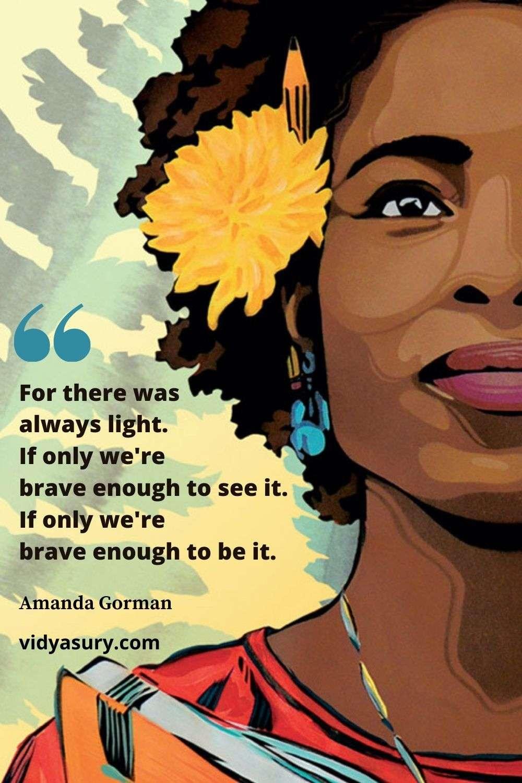 Amanda Gorman The Hill We Climb Quote 1