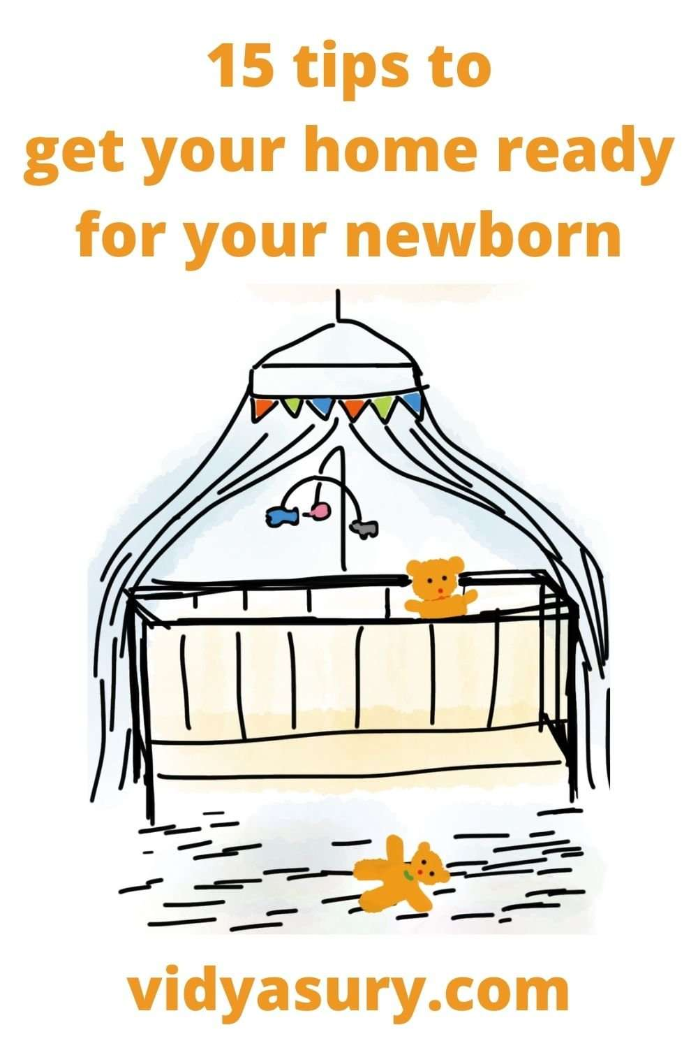 15 tips to get your home ready for your newborn