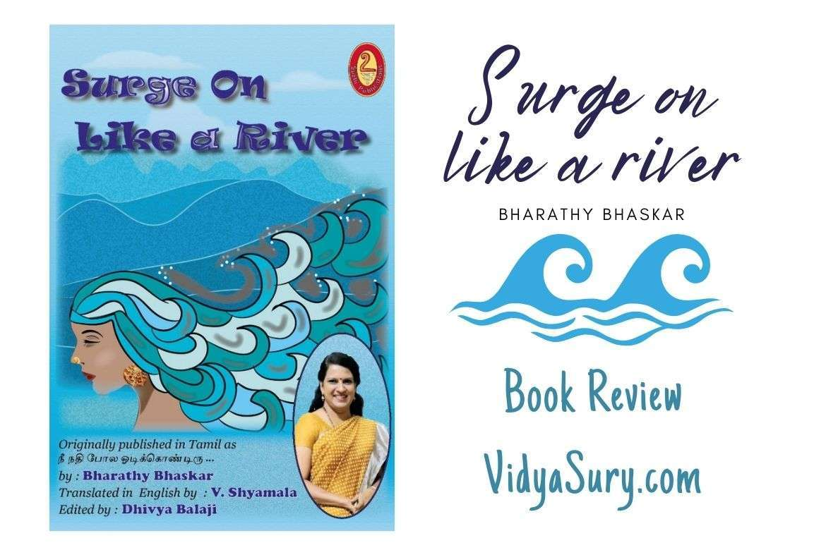 Surge on like a river Book Review Vidya Sury