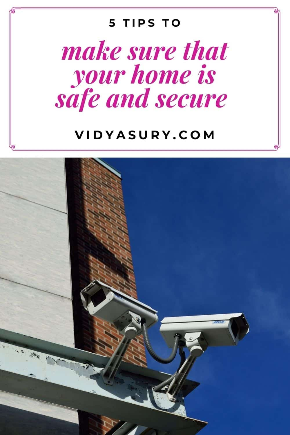 5 tips to create a safe and secure environment at home