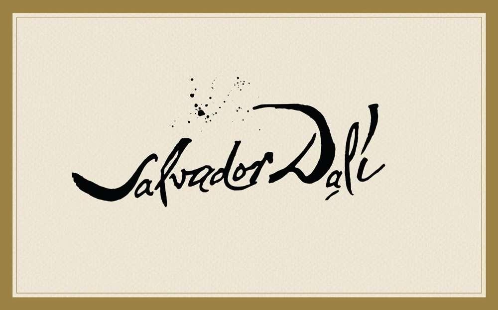 dali-signature Handwriting