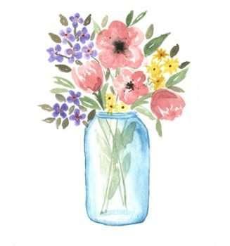 Flower vase Flowers at home