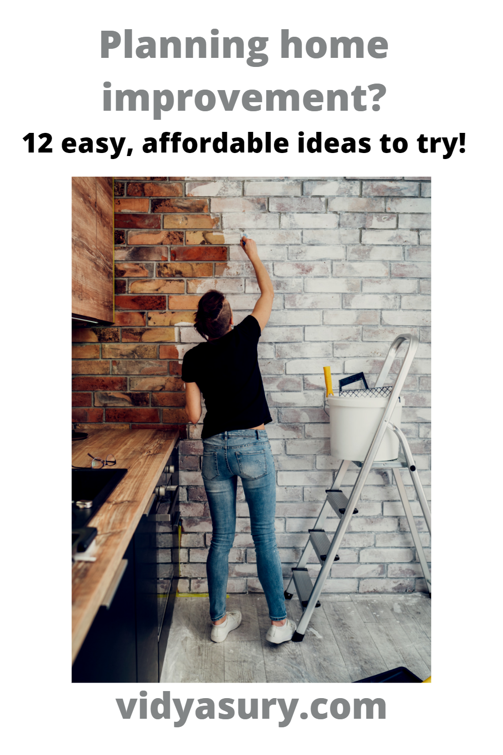 Looking for Home Improvement ideas? 12 easy affordable ideas to try