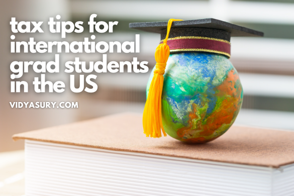 tax tips for international grad students in the US