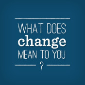 Enjoying Change #MicroblogMondays